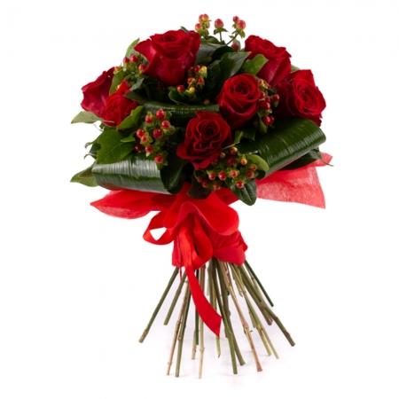 Buchet de trandafiri roșii