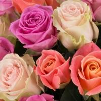Buchet de 21 Trandafiri tricolor 4