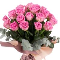 Buchet de 29 Trandafiri roz 3