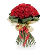 Buchet de 45 Trandafiri roșii 2