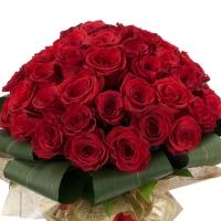 Buchet de 45 Trandafiri roșii 3