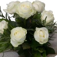 Buchet de 7 Trandafiri albi 4