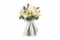 Buchet Mireasa/Nasa cu hortensia,trandafiri si minirosa 2