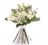 Buchet mireasa/nasa trandafiri liliac 2