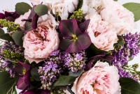 Buchet Mireasa-Nasa Trandafiri roz. Comanda online buchet de mireasa sau de nasa din trandafiri roz | Flori24 4