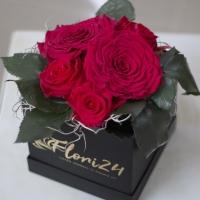 Cutie Trandafiri rosii criogenati 3