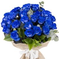 Trandafiri albastri, trandafiri maiastri. Cadou floral inedit.  3