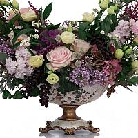 Trandafiri, Banan, Leucadendron, Liliac, Lisianthus, Matthiola, Hotensia, Brasica, Astilbe, Schimia 3