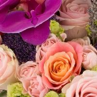 Aranjament floral tezaur de flori exceptional. 3