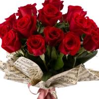 Buchet de 19 Trandafiri roșii 3