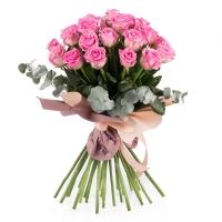 Buchet de 29 Trandafiri roz 2