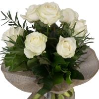 Buchet de 7 Trandafiri albi 3
