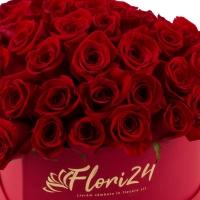Cutie cu trandafiri roșii 3