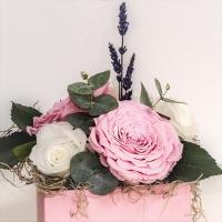 Cutie trandafiri criogenati  2