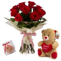 Ofertă, Dragobete 15 Trandafiri Roșii 2