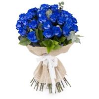 Trandafiri albastri, trandafiri maiastri. Cadou floral inedit.  2