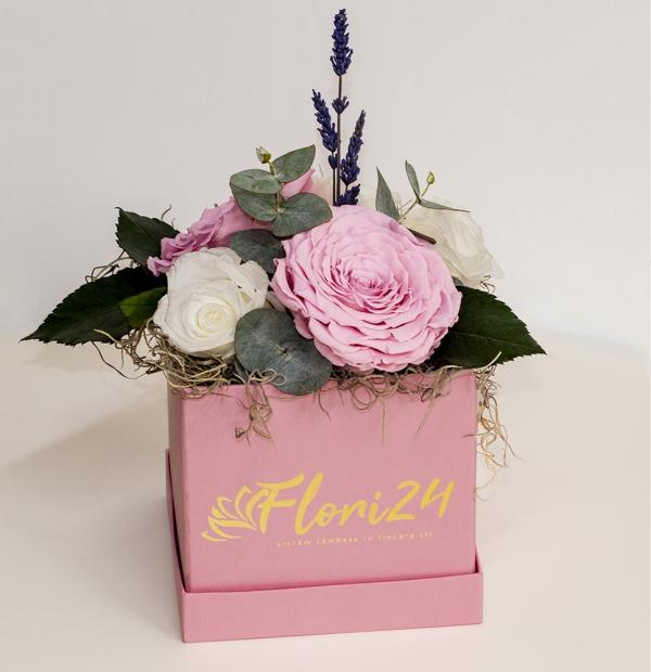 Cutie trandafiri criogenati