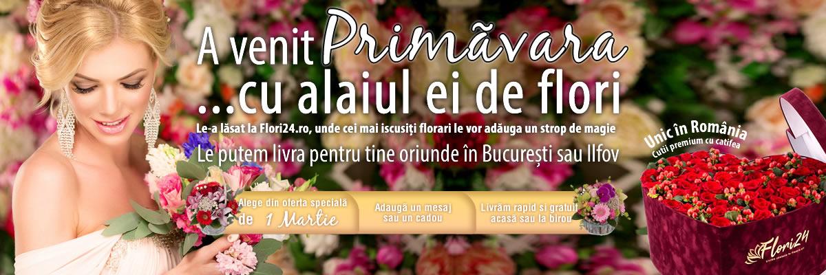1 Martie, Martisor, Flori24, Florarie Online, Livrare Gratuita