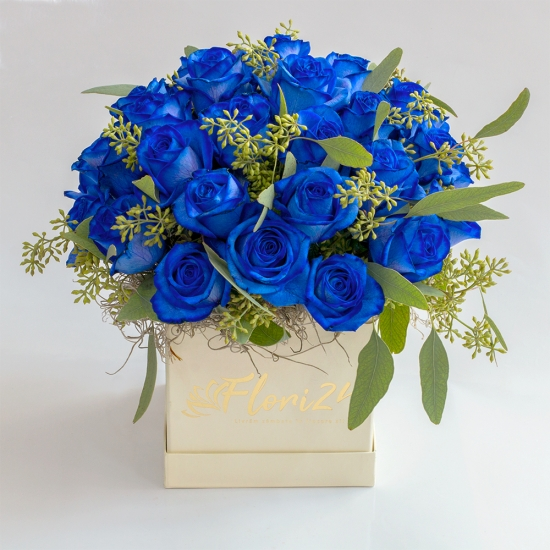 Cutie-albastra