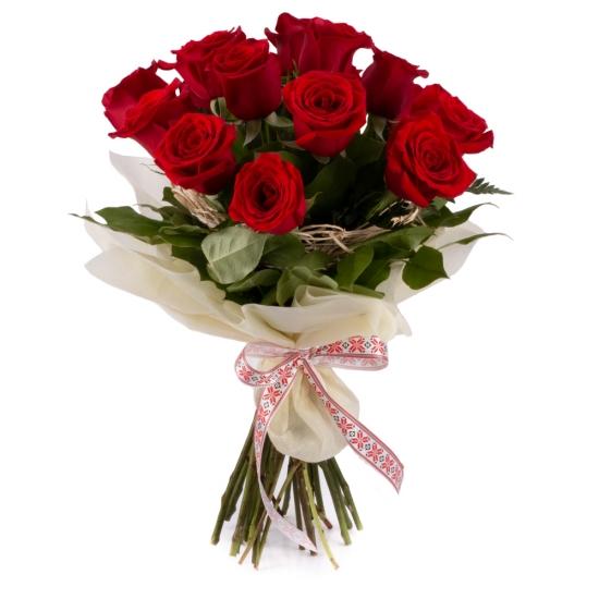 Ofertă, Dragobete 15 Trandafiri Roșii